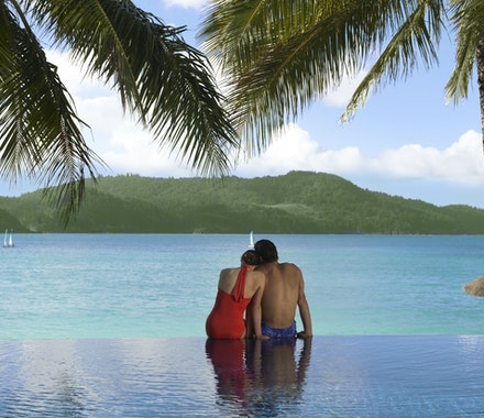 Beach Club pool - luxury vacation Hamilton Island