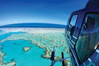 See the Whitsundays via a helicopter tour - romantic getaways Hamilton Island