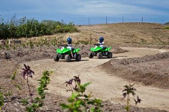 Family fun with kids' quad bikes - family holidays Hamilton Island