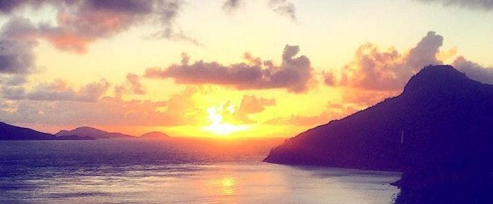 passage peak sunrise at hamilton island
