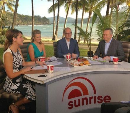 Sunrise LIVE from Hamilton Island