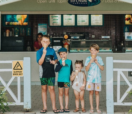 ice cream for kids at hamilton island