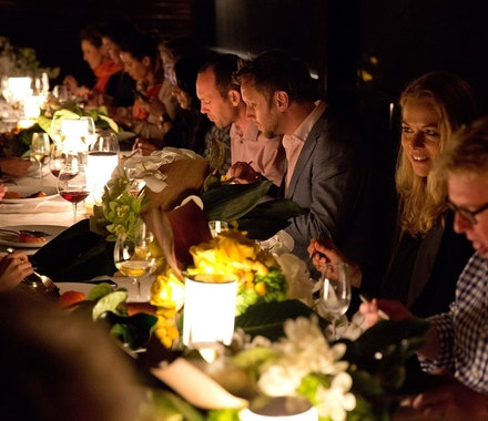 qualia WOW June 2014 - Pebble Beach dinner by Mark Best