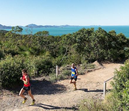 Participate in the Hilly Half Marathon - Hamilton Island
