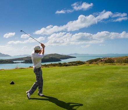 Professional Golf Championship in the Whitsundays - Hamilton Island golfing holidays
