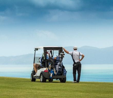 Golf overlooking the Whitsundays - Hamilton Island  holidays