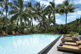 Swim some laps at the Reef View Hotel lap pool - Hamilton Island holiday