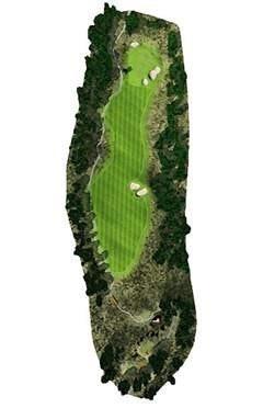 Golf Course Hole 1 Dent Island - Hamilton Island golf holidays