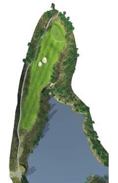 Golf Course Hole 10 Dent Island - Hamilton Island golf holidays
