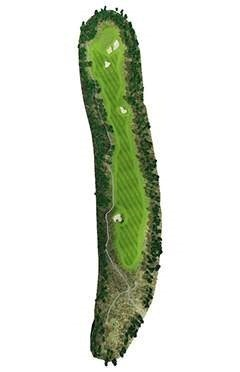 Golf Course Hole 11 Dent Island - Hamilton Island golf holidays