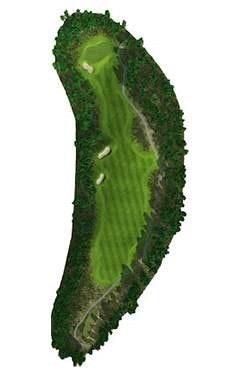 Golf Course Hole 12 Dent Island - Hamilton Island golf holidays