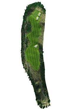 Golf Course Hole 15 Dent Island - Hamilton Island golf holidays