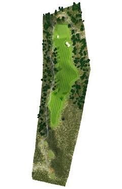 Golf Course Hole 2 Dent Island - Hamilton Island golf holidays