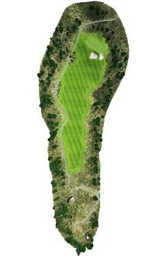 Golf Course Hole 3 Dent Island - Hamilton Island golf holidays